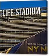 Metlife Stadium Super Bowl Xlviii Ny Nj Canvas Print