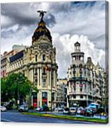 Metropolis Madrid Canvas Print