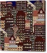 Metropolis Seven Canvas Print