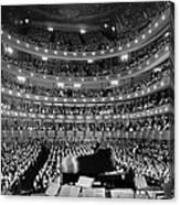 Metropolitan Opera House 1937 Canvas Print