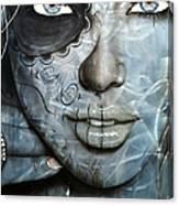 Metallic Messiah Canvas Print