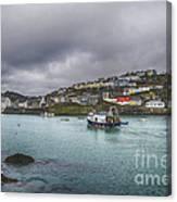 Mevagissy Cornwall Canvas Print