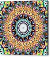 Mexican Ceramic Kaleidoscope Canvas Print