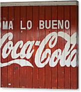 Mexican Coke Canvas Print