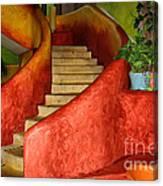 Mexican Colors Canvas Print