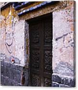 Mexican Door 34 Canvas Print