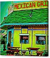 Mexican Grill Canvas Print