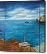Mexican Ocean Beach  Canvas Print