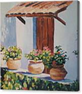 Mexican Pots Canvas Print