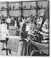 Mexican Textile Factory Canvas Print