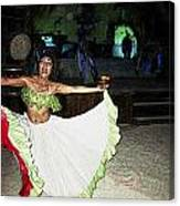 Mexican Traditional Dancer Canvas Print