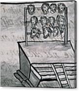 Mexico - Skull Rack Canvas Print