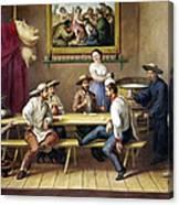 Mexico: Bar Scene Canvas Print