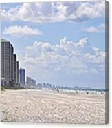 Mexico Beach Coastline Canvas Print
