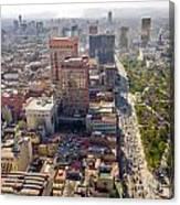 Mexico City Cityscape Canvas Print