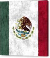 Mexico Flag Canvas Print