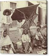 Mexico Market, C1915 Canvas Print