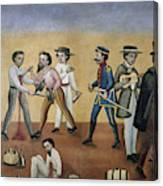 Mexico Satire, C1850 Canvas Print