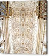 Mezquita Cathedral Ceiling In Cordoba Canvas Print