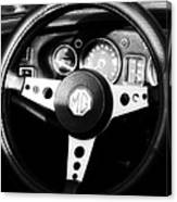 Mg Dashboard Canvas Print