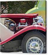 Mg Engine Canvas Print