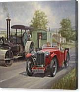 Mg Sports Car. Canvas Print