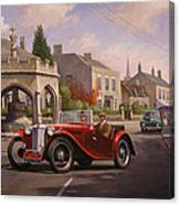Mg Tc Sports Car Canvas Print