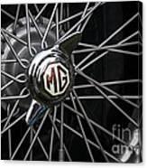 Mg Wheel Canvas Print