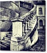 #mgmarts #architecture #castle #steps Canvas Print