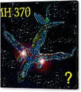 Mh 370 Mystery Canvas Print