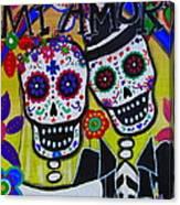 Mi Amor Dia De Los Muertos Wedding Canvas Print