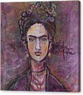 Mi Vida Mi Frida Canvas Print
