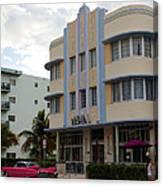 Miami Art Deco Canvas Print