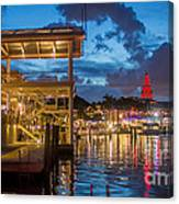 Miami Bayside Freedom Tower Canvas Print