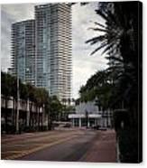 Miami Beach-0166 Canvas Print
