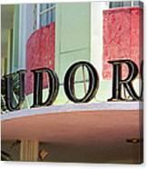 Miami Beach - Art Deco 11 Canvas Print