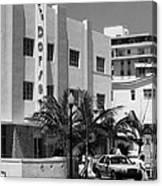 Miami Beach - Art Deco 24 Canvas Print