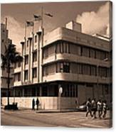 Miami Beach - Art Deco 35 Canvas Print