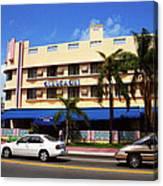 Miami Beach - Art Deco 38 Canvas Print
