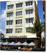 Miami Beach - Art Deco 43 Canvas Print