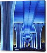 Miami Bridge Canvas Print