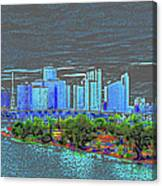 Miami Color Canvas Print
