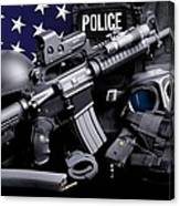 Miami Dade Police Canvas Print