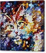 Miaw Canvas Print