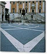Michael Angelo's Campidoglio Canvas Print