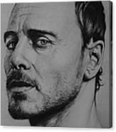 Michael Fassbender Canvas Print