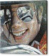 Michael Jackson - Mosaic Canvas Print