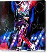 Michael Jackson Moves Canvas Print