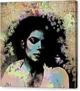Michael Jackson - Scatter Watercolor Canvas Print
