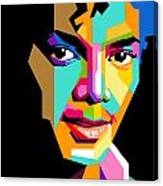Michael Jackson Young Canvas Print